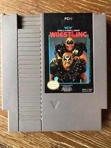 WCW World Championship Wrestling - Nintendo NES - Tested / Working
