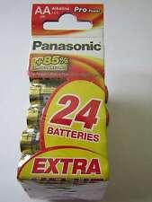 24x AA propower Alcaline Batterie panasonic