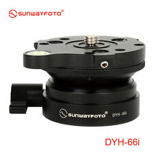 "Sunwayfoto Leveling Base DYH-66i Supper smooth Height 45mm 1/4"" mounting screw"