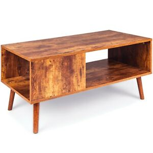 Wood Modern Retro Coffee Table, also TV Table