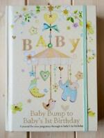NEW ADORABLE BABY RECORD AND PREGNANCY JOURNAL KEEPSAKE MEMORY BOOK - IDEAL GIFT