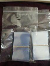 100-Heat Shrink Wrap Bands/Seals-Perforated-95x55mm