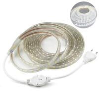 1M-5M Waterproof SMD 5050 LED Strip 220V 230V 60leds/m Flexible tape rope Light