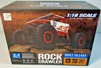 2.4GHZ 4WD 1:18 SCALE 4WD Rock Crawler R/C Rally Car Monster Truck