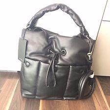 *NEU* Handtasche gepolstert schwarz Umhängetasche ZARA