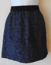 Ann Taylor Petite skirt sz 0P navy floral