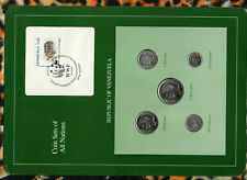 Coin Sets of All Nations Venezuela all 1989 UNC Morrocoy Tortoise stamp