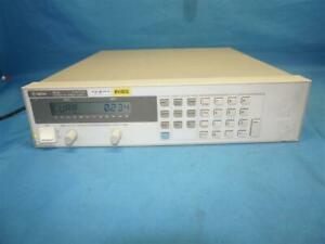 HP Agilent 6643A System DC Power Supply 0-35/0-6A w/ Breakage Missing Parts