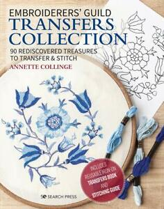 Embroiderers' Guild Transfers Collection: 90 rediscovered treasures - NEW