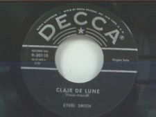 """ETHEL SMITH """"CLAIR DE LUNE / MADE FOR EACH OTHER"""" 45"""
