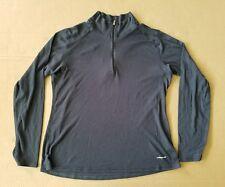 Patagonia Women's Capilene Light Weight Long Sleeve Shirt Size Medium M Gray