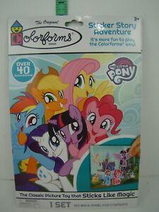 The Original Colorforms Sticker Story Adventure - My Little Pony