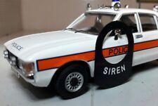 Classique Vintage Voiture de Police Pompier Ambulance Sirène Lucas