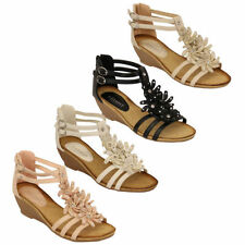 Buckle Sandals Heels for Women