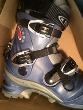Scarpa T2 Thermo Telemark ski boots; Women's size 8; Sky color; New in Box