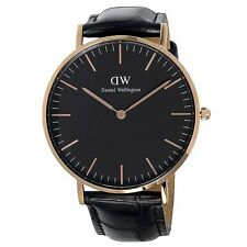 Daniel Wellington DW00100141 Classic Black Reading RG 36mm Watch