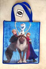 DISNEY FROZEN ANNA KRISTOFF SVEN & OLAF REUSABLE SHOPPING TOTE GIFT BAG NEW