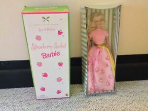 Strawberry Sorbet Barbie 1998 #20317 Avon Exclusive NRFB