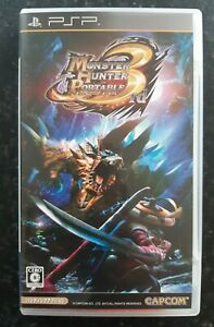 Monster Hunter Portable 3rd Japanese Sony PsP