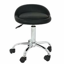 Rolling Medical Stool Doctor Dentist Doctors Spa Tattoo Chair Adjustable Black
