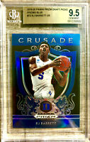 2019-20 Panini RJ Barrett Silver Prizm Blue Rookie Card RC BGS 9.5 POP 4 Knicks