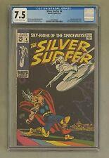 SILVER SURFER #4 Marvel Comics 1969 CGC 7.5 Thor & Loki Appearance Hulk Cameo