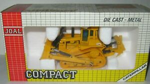 JOAL COMPACT Ref:220  CAT D-10 Chain Tractor With Ripper. 1:70. MIB Boxed