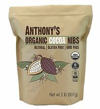 Organic Cacao / Cocoa Nibs, 2 Pounds by Anthony's, Certified Gluten-Free 32