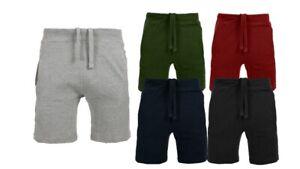 New Mens Shorts Pique Jogger Cotton Summer Jogging Gym Pants Running Shorts