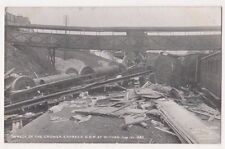 Wreck of The Cromer Express at Witham Essex Fred Spalding 638 Postcard B739