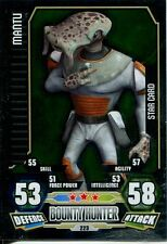 Star Wars Force Attax Series 3 Card #223 Mantu