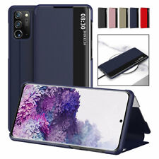 For Samsung Galaxy S20 Plus Note 20 Ultra 5G Flip Smart Window View Phone Case