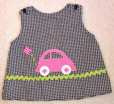 Girls 12 M Spring Dress Summer Reversible VW Bug Halloween Funtasia Too Boutique