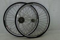 "Campagnolo 26"" Bike Wheels Campy 20mm 130OLW Deore DX Hubs 7spd Cassette Charity"