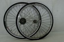 """Campagnolo Campy 26"""" Wheels 20mm 130OLW Deore DX Hubs 7spd Cassette For Cahrity!"""