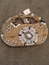 NEW Billy Bag Floral Beige/Brown/White Canvas Handbag Shoulder Bag