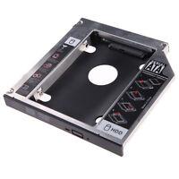 9.5mm Universal SATA 2nd HDD SSD Hard Drive Caddy for CD/DVD-ROM Optical Bay