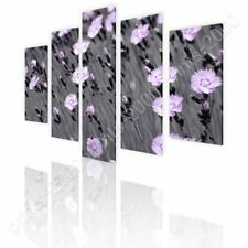 Nature In Macro by Split 5 Panels   Ready to Hang Canvas   5 Panels Wall art