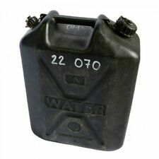 British Army Surplus Black Military Plastic Jerry Can Water Container 25L NATO