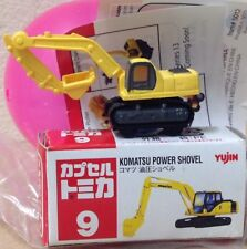 Capsule Tomica ConstructIon 9 Power Shovel excavator 2006 series 12 Yujin mini