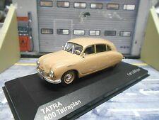 TATRA 600 Limousine Tatraplan dunkel beige braun 1950 White Box IXO 1:43