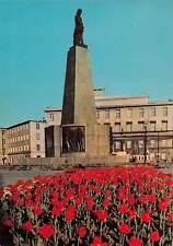 Poland Lodz Pomnik Tadeusza Koscraszki Monument Statue Flowers