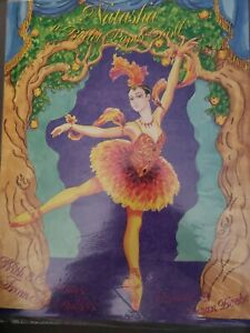 NEW Vintage Uncut paper doll by Susan Beebe from Doll World. Natasha Ballet