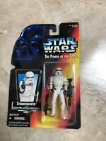 Vintage Star Wars the Power of the Force STORMTROOPER Kenner Action Figure New