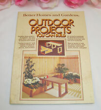 Vintage Better Homes and Gardens Outdoor Projects You Can Build 67 Ideas Patios