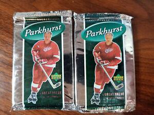 2005-06 upper deck parkhurst hockey ( 2 pack lot = 12 cards) see checklist below