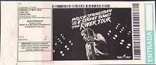 Bruce Springsteen 2016, May 14th - Spanish unused ticket / entrada no utilizada