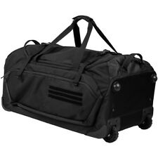 First Tactical Specialist Rolling Duffle Wheeled Holdall Luggage Carry Bag Black