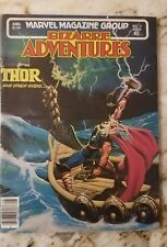 Bizarre Adventures Magazine (1982) #32 Vf Thor 1 Jusko Art Marvel Comic 1