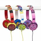 Official Licensed Moshi Monsters Kids Headphones Earphones Red/White/Pink